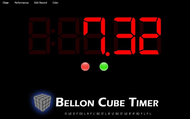bellon cube timer